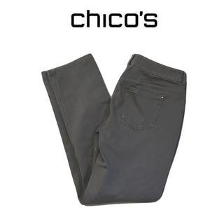 Chicos Size 0 Gray Jeans Low Rise Size 31 in Waist